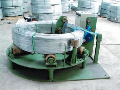 W2000 horizontal wire rod packing machine