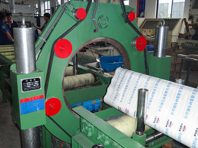 XL-400 steel bar packing machine